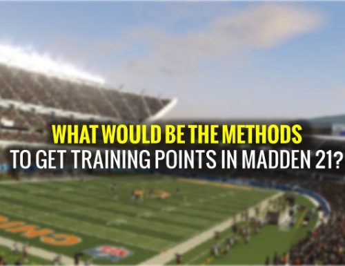 What would be the methods to get training points in Madden 21?